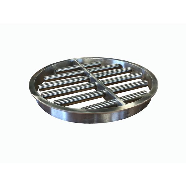 Grille magnétique ronde ou rectangulaire à nettoyage manuel