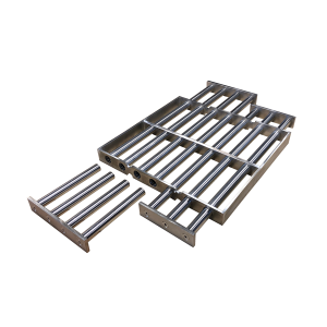 Grille magnétique ronde ou rectangulaire à nettoyage simplifiée